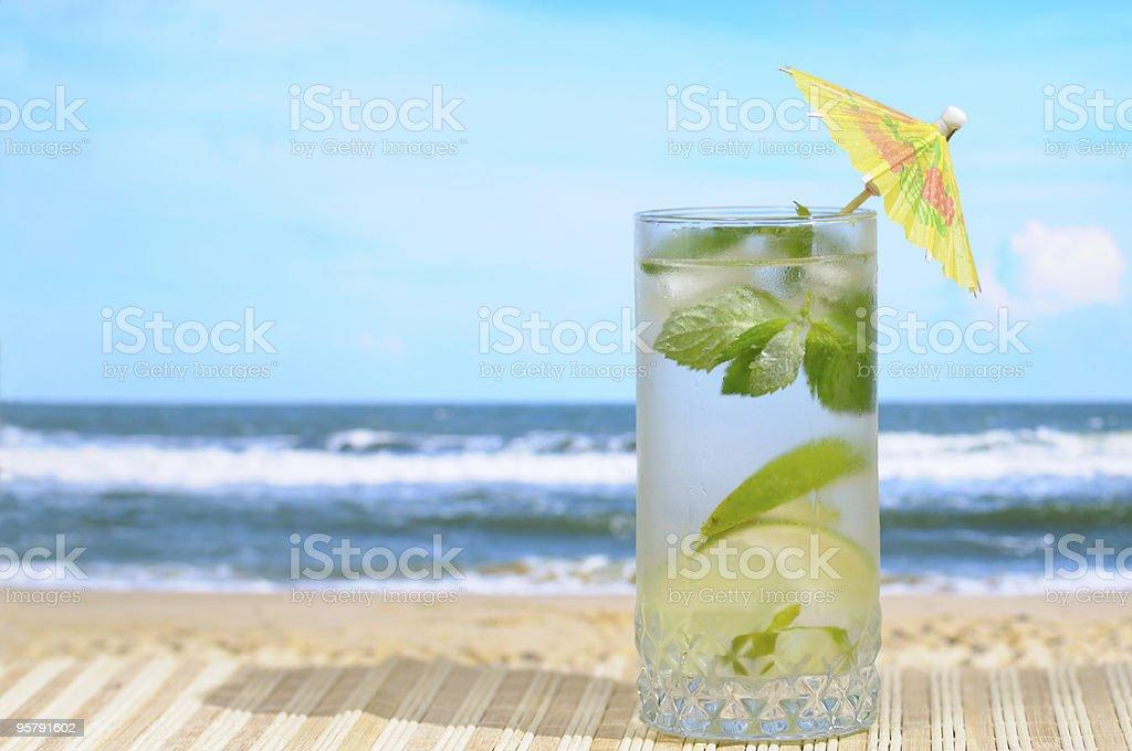 Mojito cocktail royalty-free stock photo