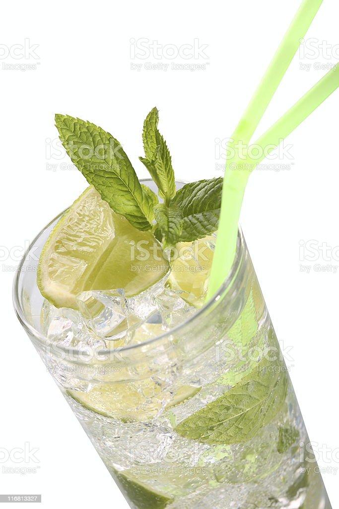 Mojito Drink Close-up stock photo