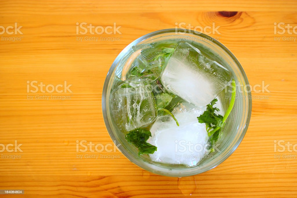 Mojito: summer cocktail stock photo