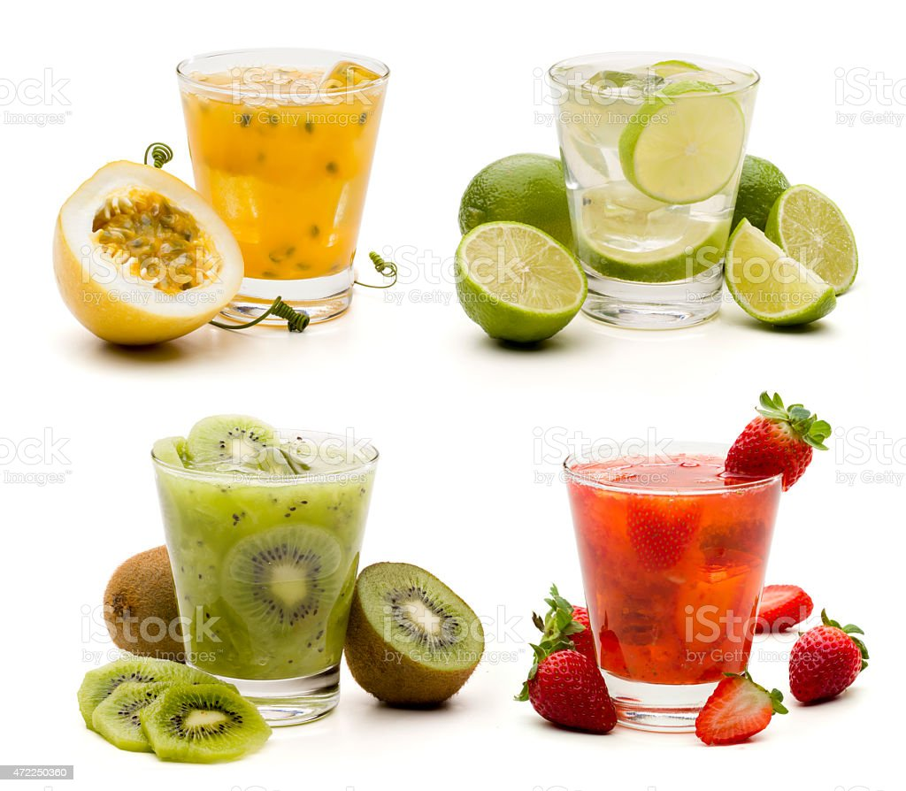 Mojitos cocktail stock photo