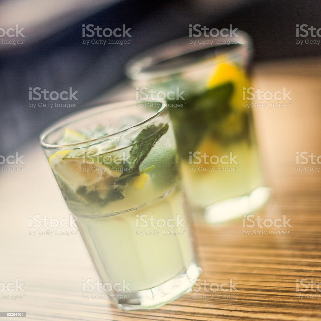 Mojitos stock photo