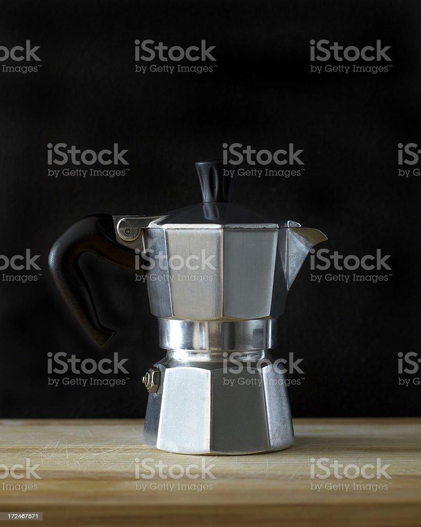 Moka coffee maker royalty-free stock photo