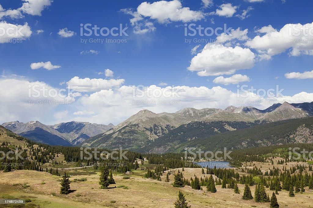 Molas Pass Colorado Rockies royalty-free stock photo