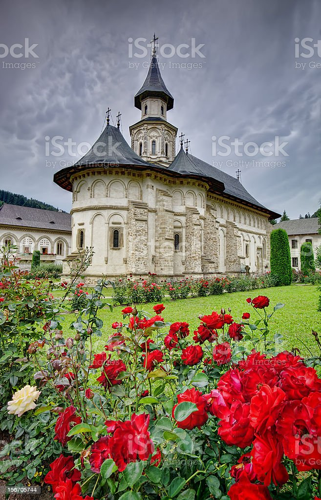 Moldavian monastery royalty-free stock photo