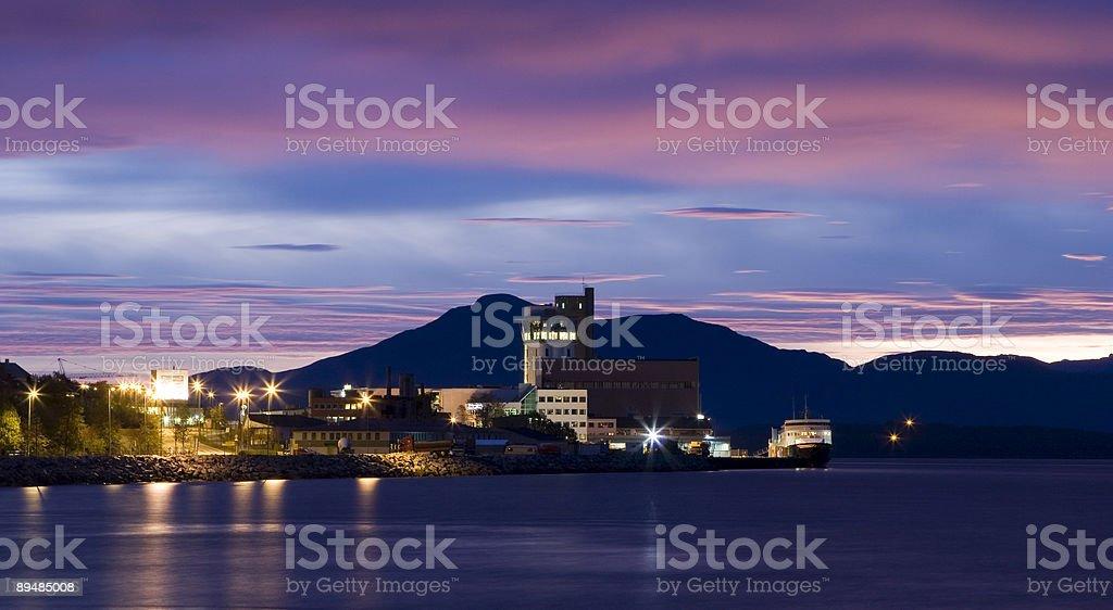 Molde Docks royalty-free stock photo