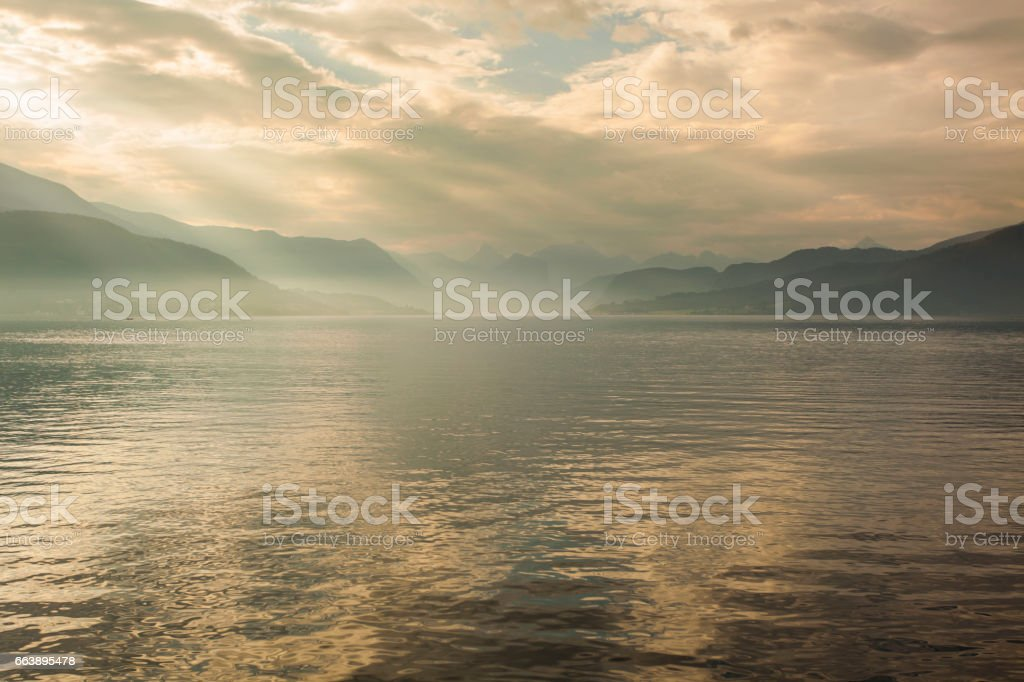 Molde Fjord stock photo