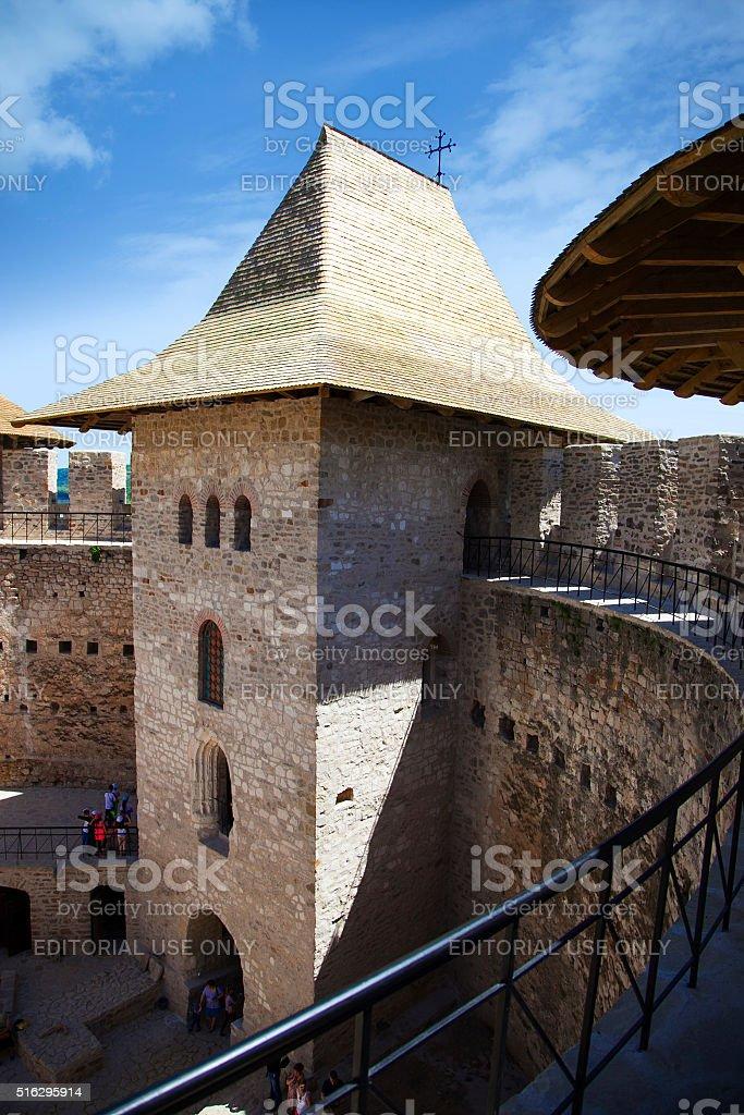 Moldova, Fort in Soroca stock photo