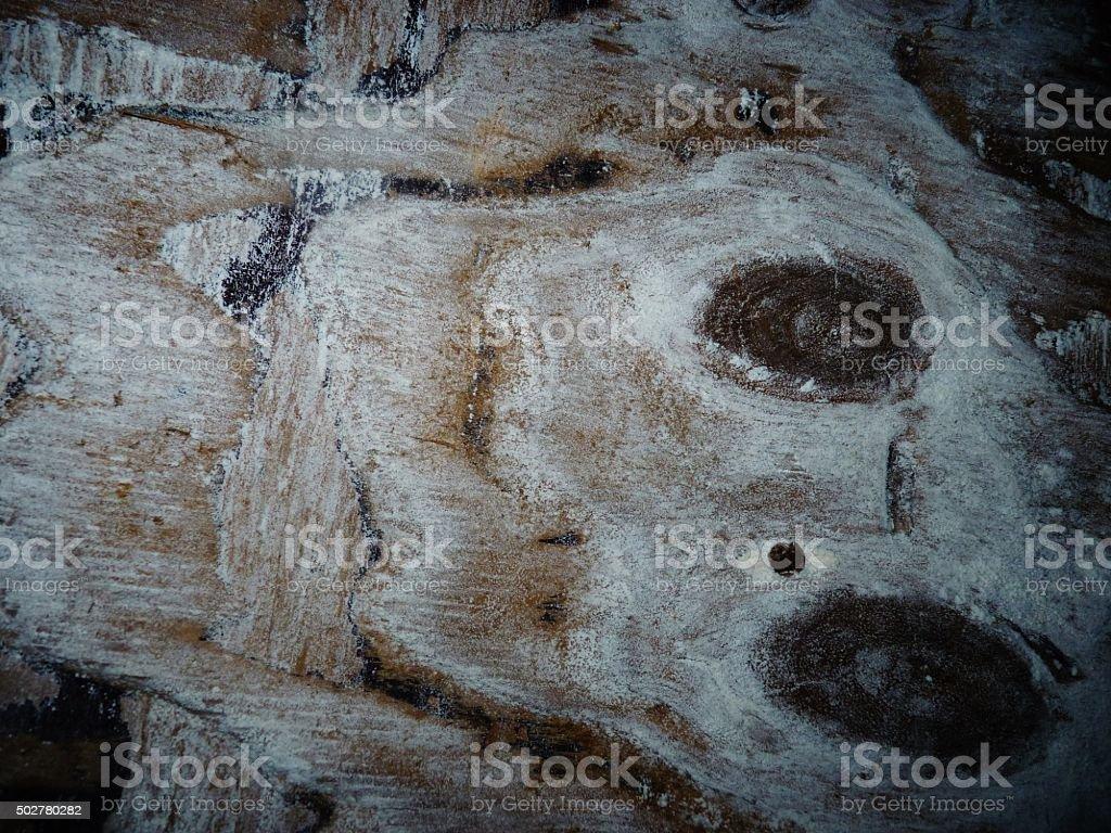 moldy wood pattern neglected fungus powdery stock photo