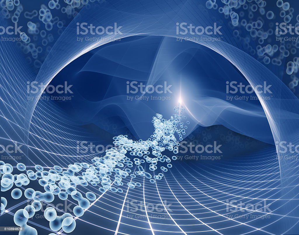molecular background stock photo