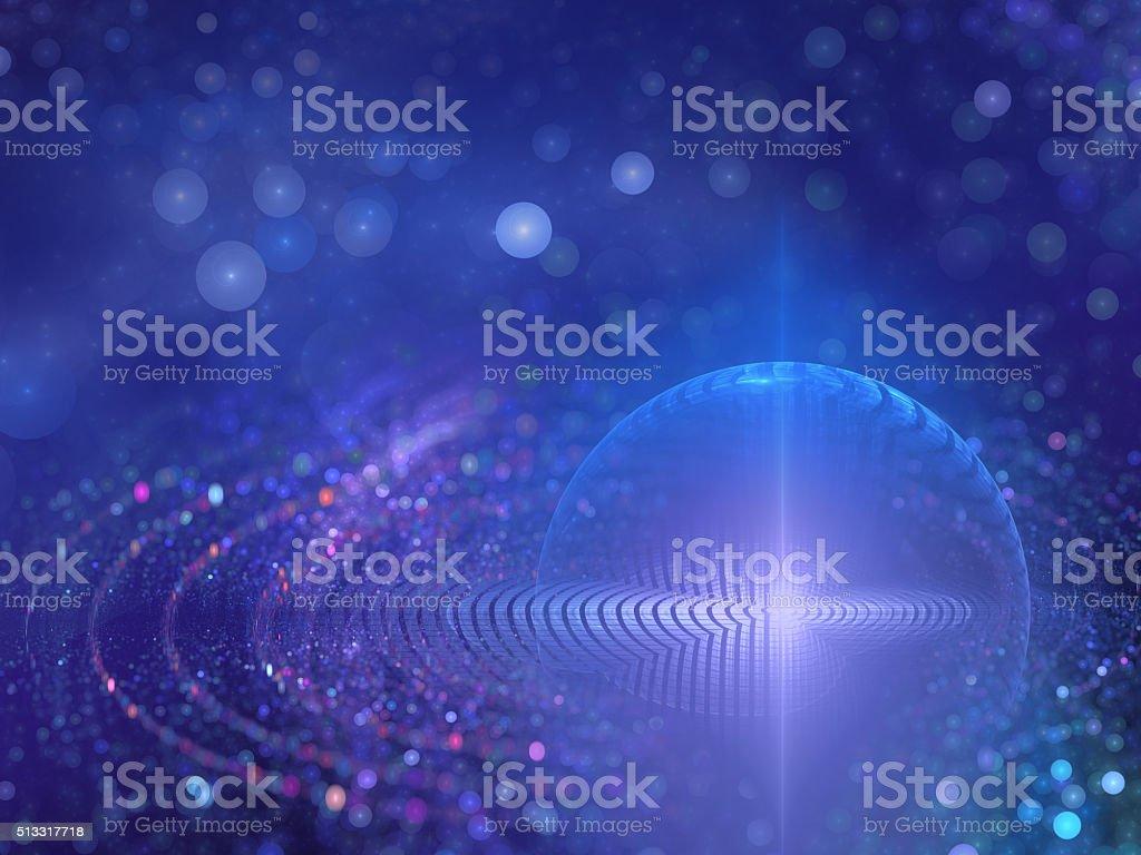 molecular energy stock photo
