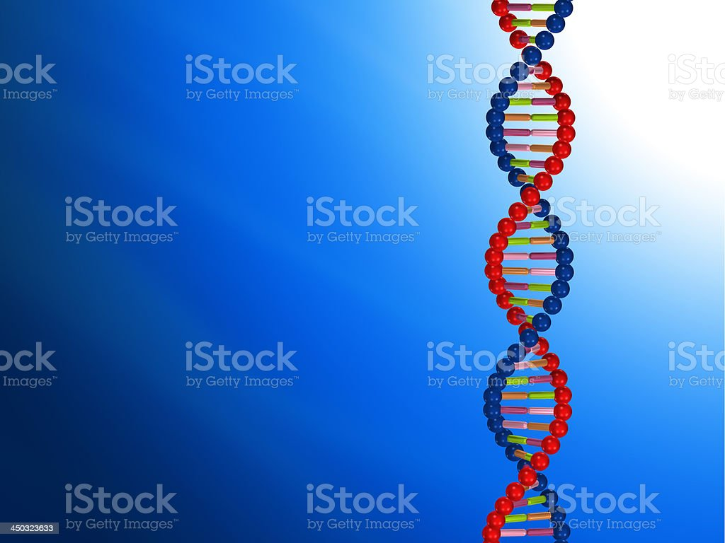 DNA molecular stock photo