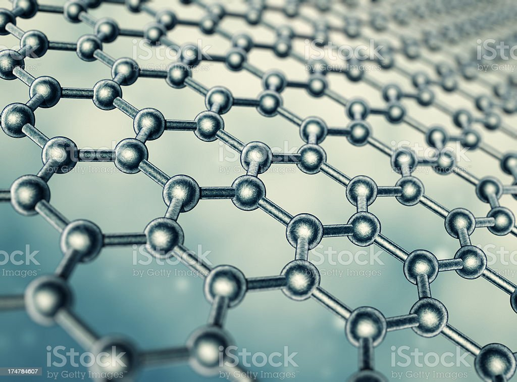 Molecular structure royalty-free stock photo