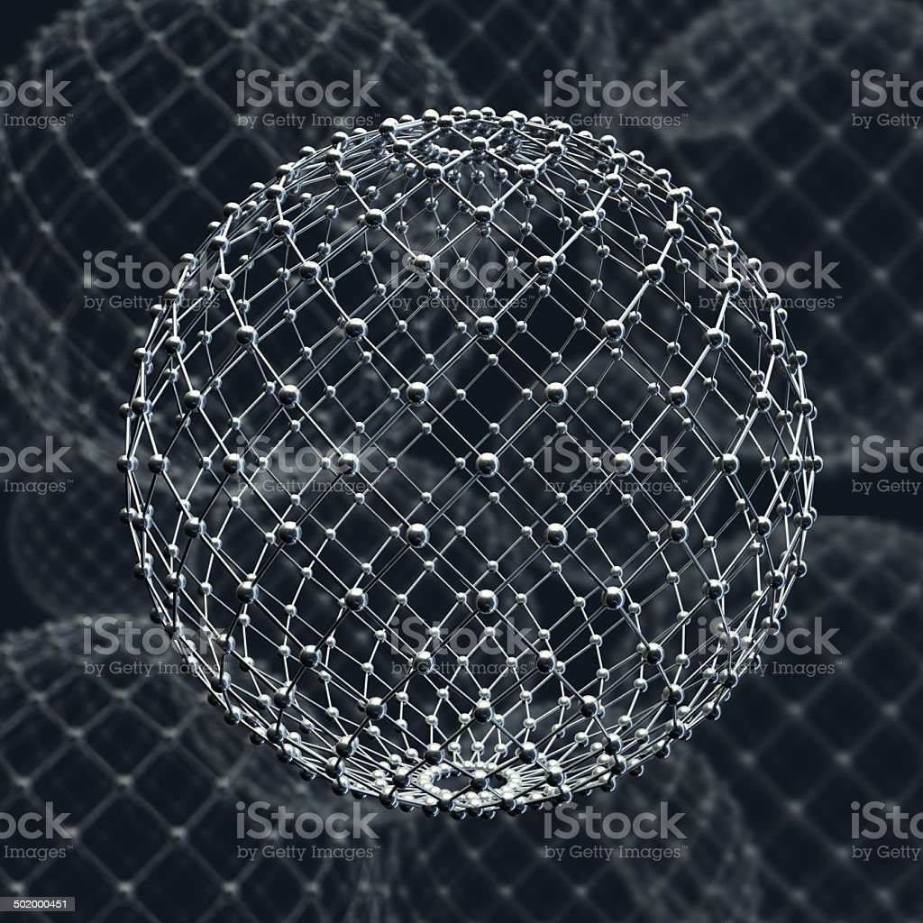 molecular structure. royalty-free stock photo