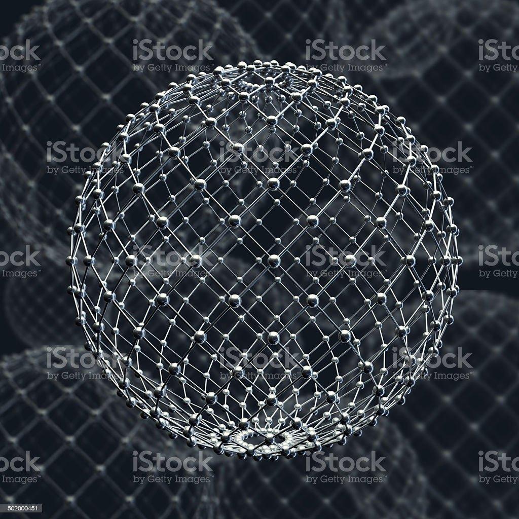molecular structure. stock photo
