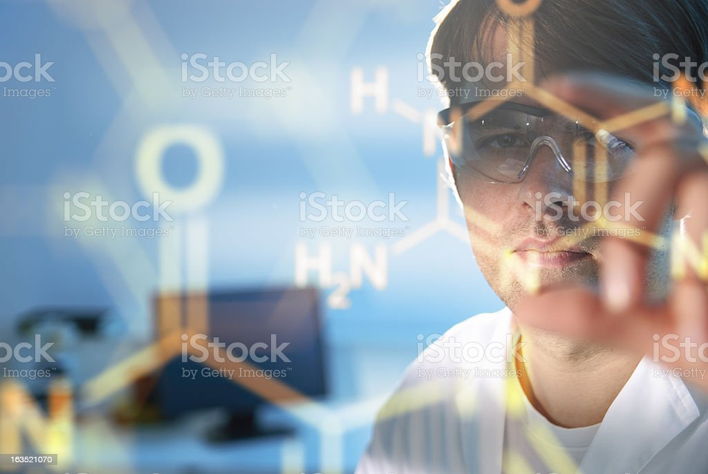 Molecular Structures royalty-free stock photo