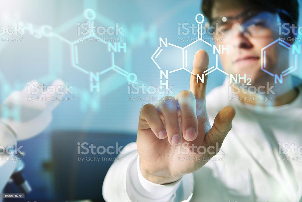 Molecular Structures stock photo