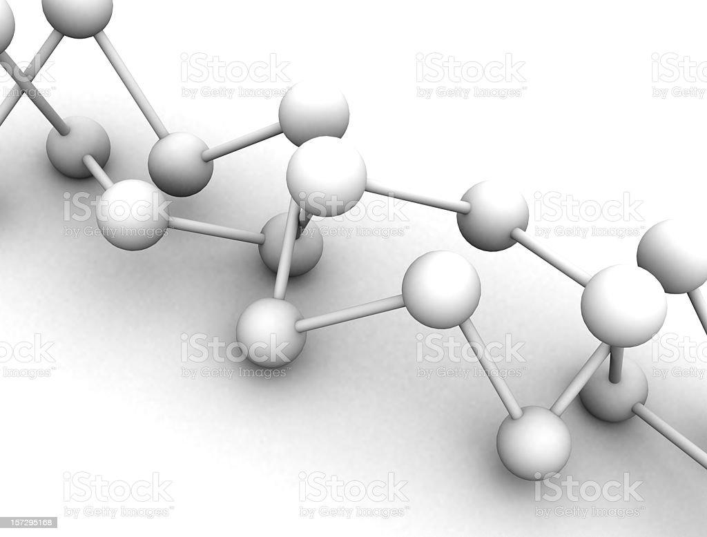 Molecule - Balls of Science royalty-free stock photo