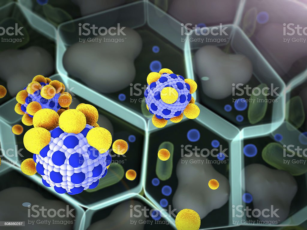 molecule, cell stock photo