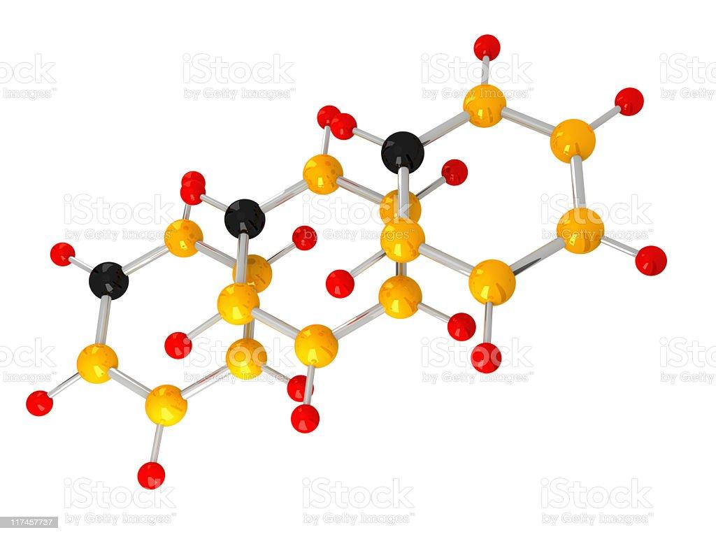 molecule royalty-free stock photo