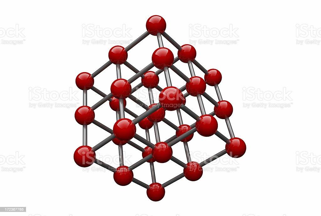 Molecule stock photo
