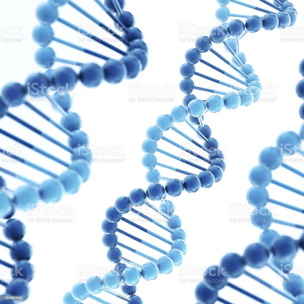 DNA Molecule Square stock photo