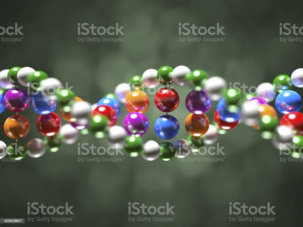 DNA Molecule XL+ royalty-free stock photo