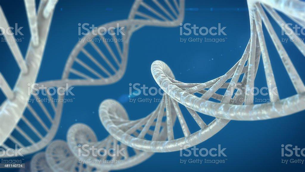 Molécules d'ADN photo libre de droits