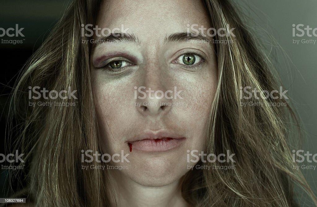 Molested stock photo