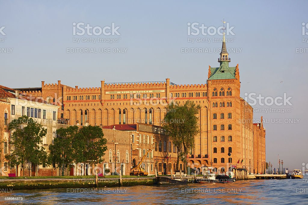 Molino Stucky, Venice, Italy royalty-free stock photo