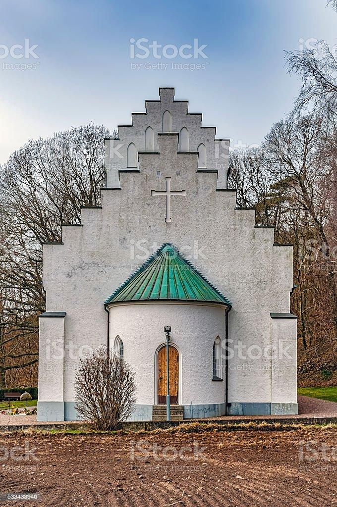 Molle Chapel stock photo