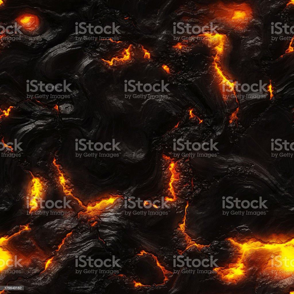 Molten lava background stock photo