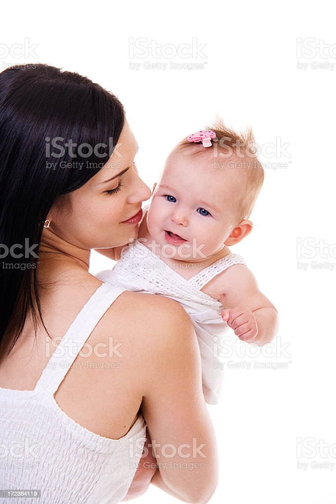Mom and Baby stock photo