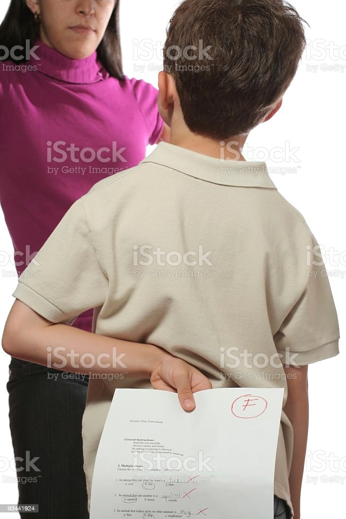 Mom... Don't Get Mad! royalty-free stock photo