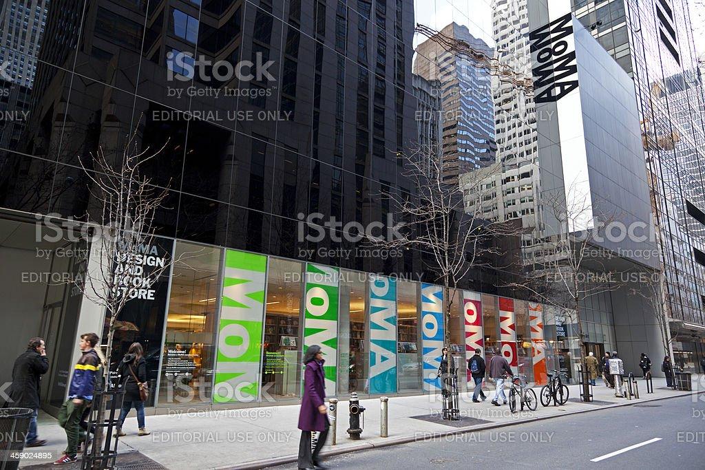 MoMa New York City stock photo
