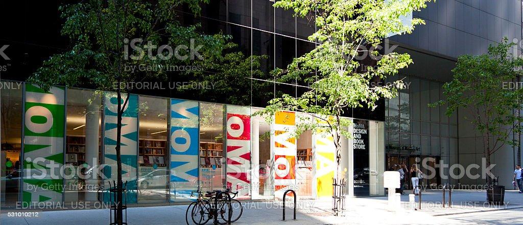 MoMA stock photo