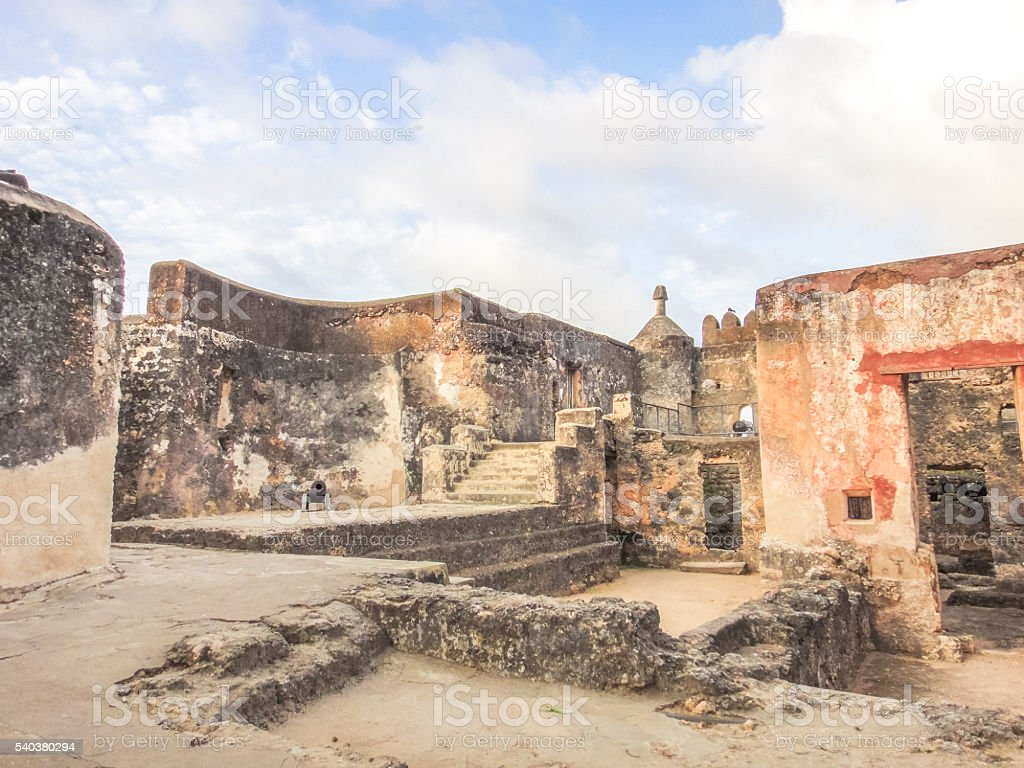 Mombasa Fort Jesus. Kenya, Africa stock photo