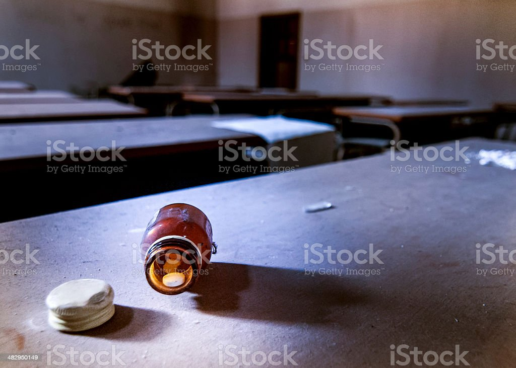 Manicomio di Mombello stock photo