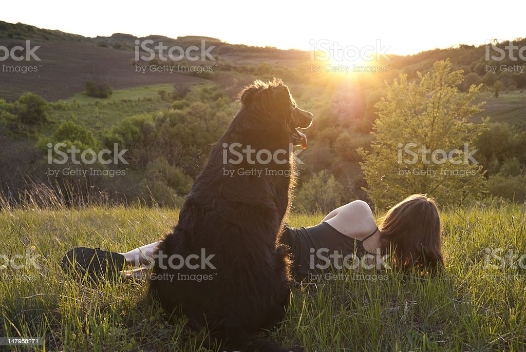 Moment of rest royalty-free stock photo