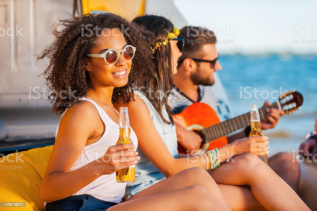 Moments of happiness. stock photo