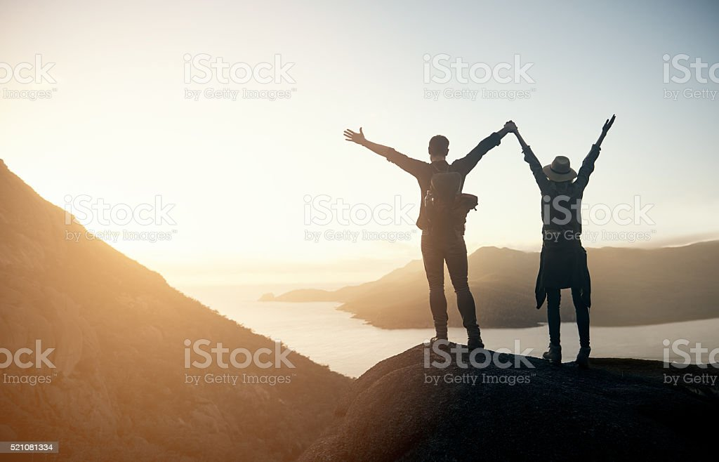 Moments that make life extraordinary stock photo