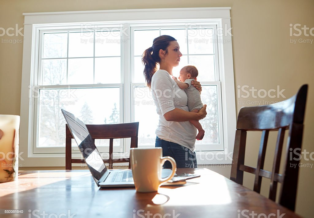 Moments to treasure stock photo