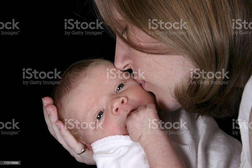 Mommy and Daughter 1 royalty-free stock photo