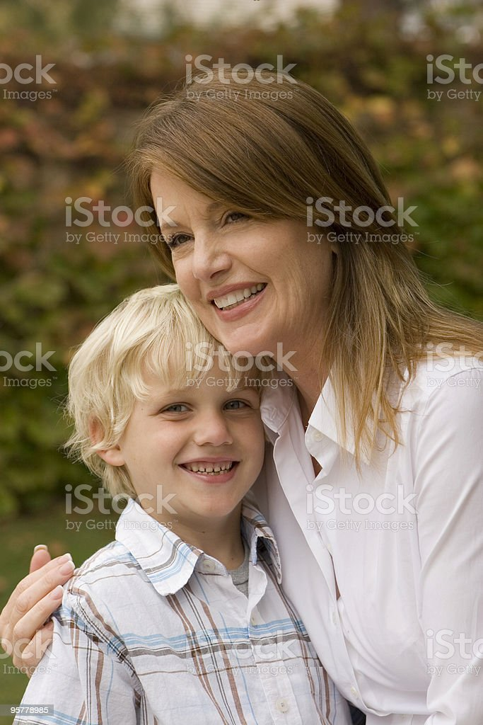 Mommy time royalty-free stock photo