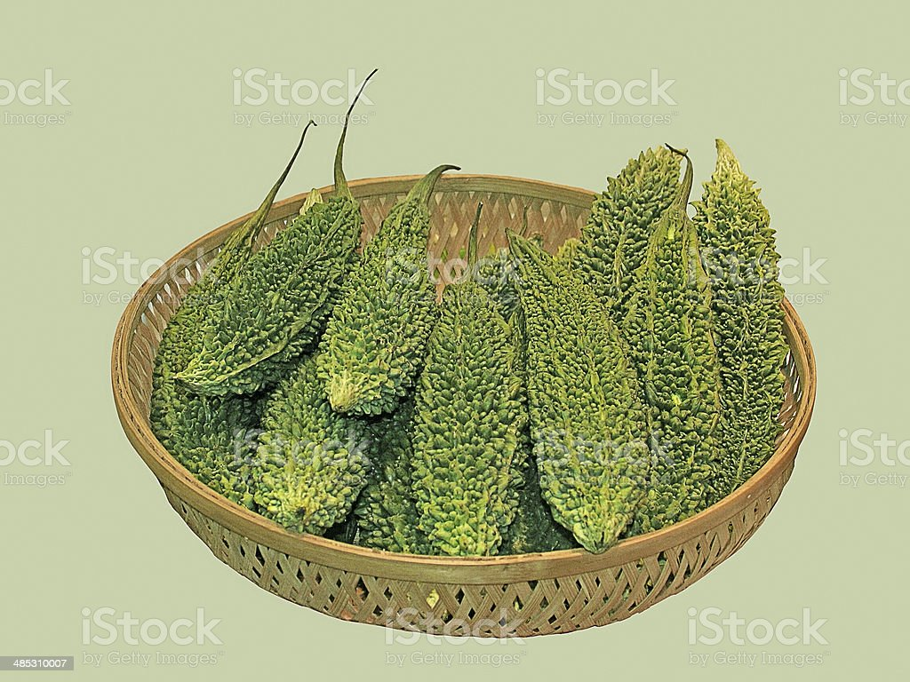 Momordica Charantia, Bitter Melon stock photo