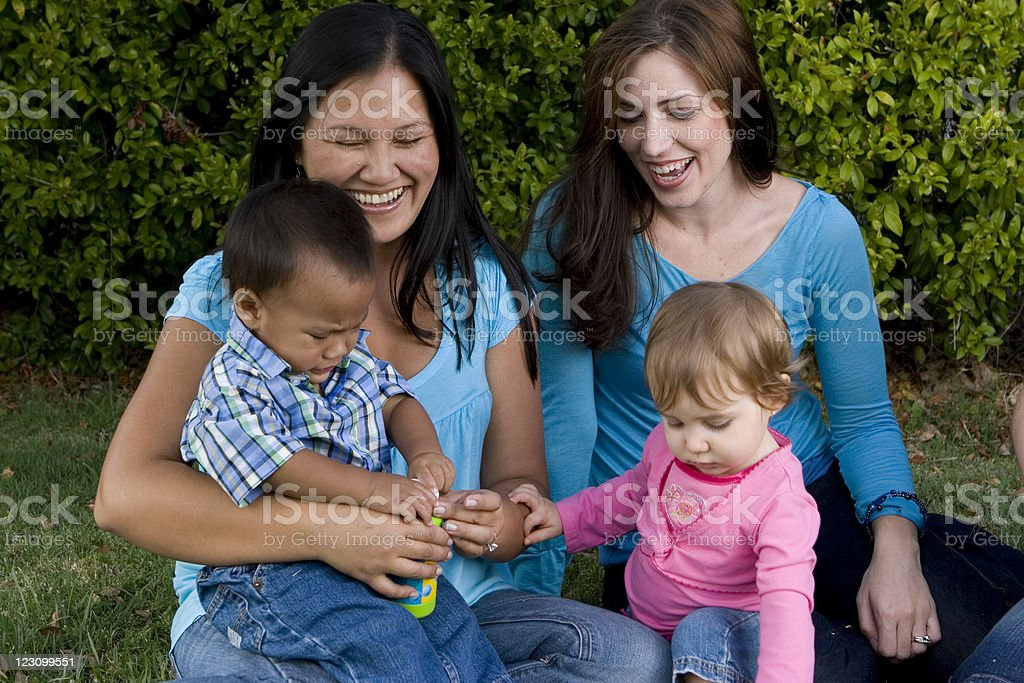 Mom's Group royalty-free stock photo