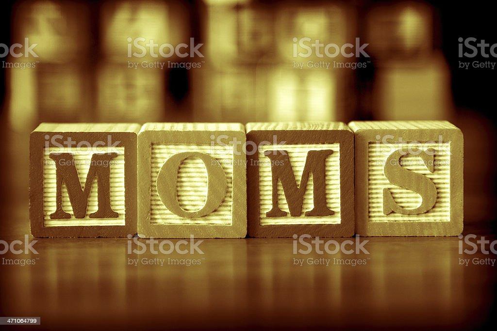 moms royalty-free stock photo