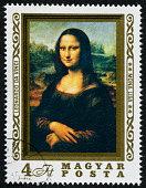 Mona Lisa Stamp