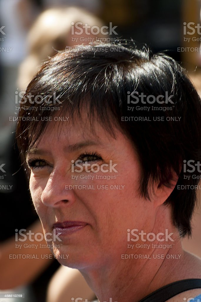 Mona Sahlin stock photo