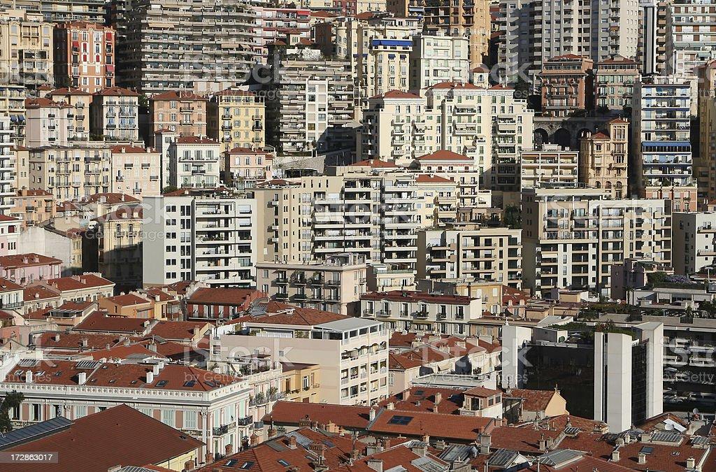 Monaco City stock photo