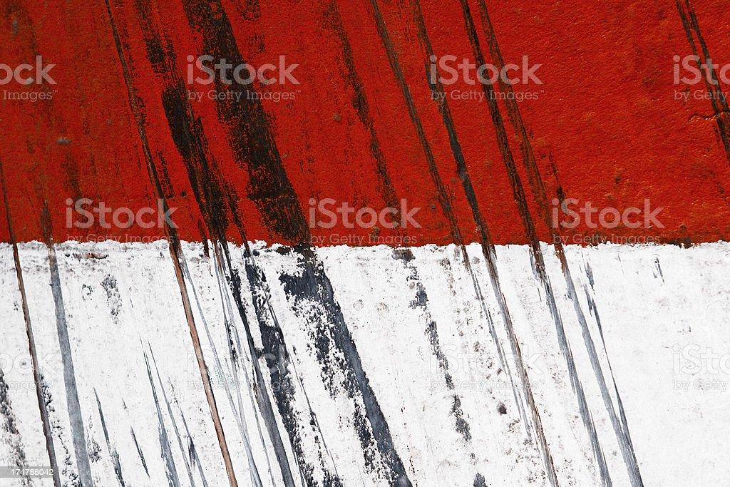 Monaco Flag with Skid Marks stock photo